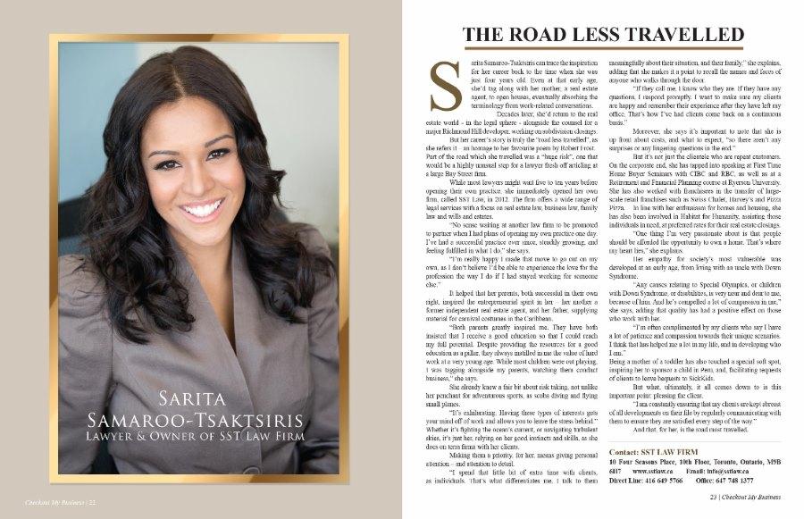 Sarita Samaroo Tsaktsiris Article
